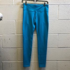 Alo yoga bright blue full legging sz small 61803
